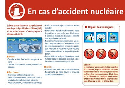 en cas accident nucleaire