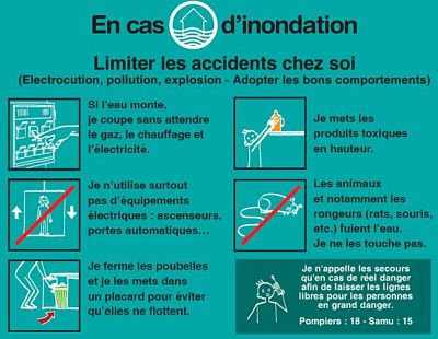 inondation limiter accidents